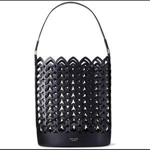 Kate Spade Large Dorie Bucket Bag in Black